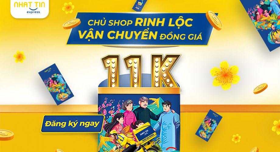 Đồng giá 11K – Đặt đơn thả ga – Hoàn COD 24h