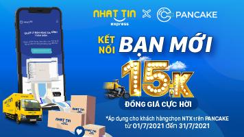 Nhất Tín Express bắt tay Pancake – Giao hàng toàn quốc đồng giá 15K