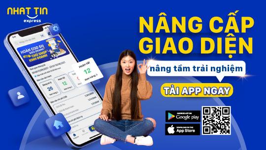 Nhất Tín Express ra mắt App giao hàng phiên bản mới