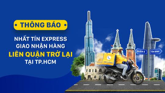 Nhất Tín Express thông báo giao nhận hàng hóa liên quận trở lại tại TP.HCM